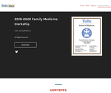 2019-2020 Family Medicine Clerkship