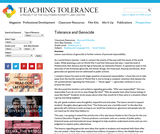 Tolerance and Genocide