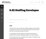 8.EE Stuffing Envelopes