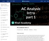 AC analysis intro 1
