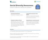 21st Century Skills: Social Diversity/Awareness