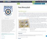 Paper Memory Quilt