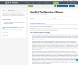 Quiz RI.6: The Education of Women
