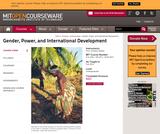 Gender, Power, and International Development, Fall 2003