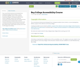 Bay College Accessibility Course
