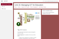 Kenya ICT CFT Course: Managing ICT for Education