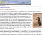 Soggy Soil Sours Egyptian Sandstones