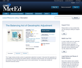 The Balancing Act of Geostrophic Adjustment