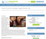 Hydrogen-Oxygen Reaction Lab