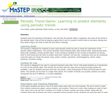 Periodic Trend Game: Learning to Predict Elements Using Periodic Trends