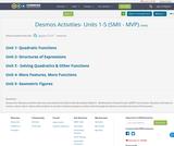 Desmos Activities- Units 1-5 (SMII - MVP)