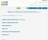 Basics of Electrical and Electronics