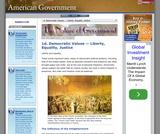 1d. Democratic Values — Liberty, Equality, Justice
