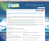 Common Misconceptions About States and Changes of Matter and the Water Cycle