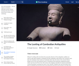 The Looting of Cambodian Antiquities