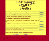 Earthquake Quiz!