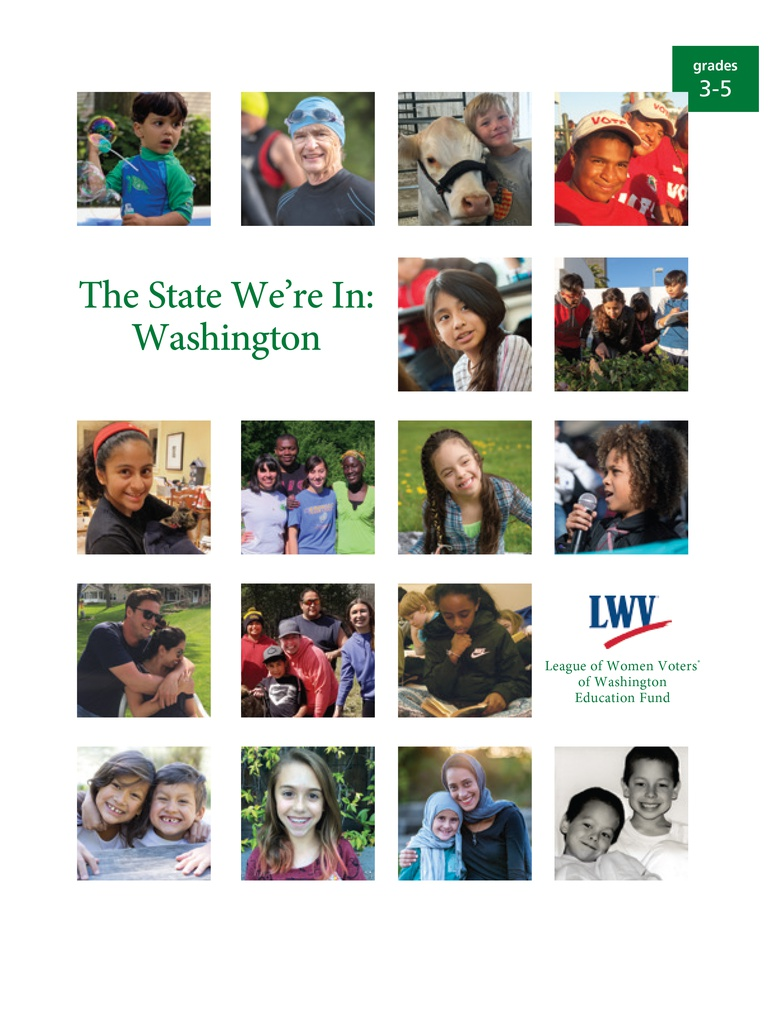 The State We're In: Washington (Grades 3-5 Edition)