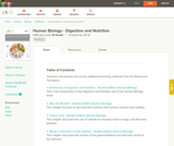 Human Biology - Digestion and Nutrition (Student's Edition)