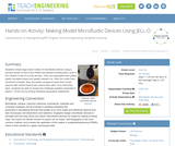 Making Model Microfluidic Devices Using JELL-O