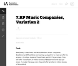 Music Companies, Variation 2