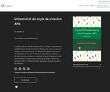 Didacticiel du style de citation APA – Simple Book Publishing