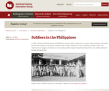 Reading Like a Historian: Soldiers in the Philippines