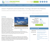 Projections and Coordinates: Turning a 3D Earth into Flatlands
