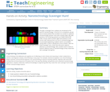 Nanotechnology Scavenger Hunt!