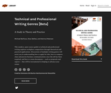 Technical and Professional Writing Genres [Beta]