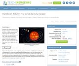 The Great Gravity Escape