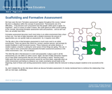 Scaffolding and Formative Assessment
