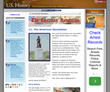 11. The American Revolution
