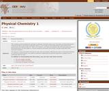Physical Chemistry 1