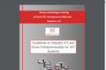 Guidelines on Industry 4.0 and Drone Entrepreneurship for VET students