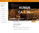 Finance & Economics: Human Capital