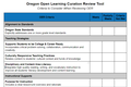 Oregon Open Learning Curation Review Tool