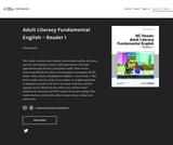 Adult Literacy Fundamental English - Reader 1