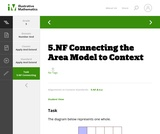 5.NF  Connecting the Area Model to Context