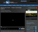 UC Natural Reserve System: Mapping the Future - Angelo Coast Range Reserve