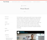 Teach Design: Mood Board