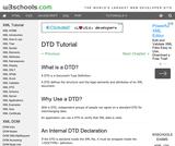 DTD Tutorial