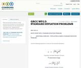 WP.2.3: STANDARD DEVIATION PROBLEMS