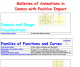 Galleries of Animations in Demos with Positive Impact