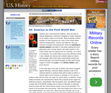 45. America in the First World War