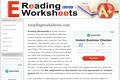 Ereading Worksheets