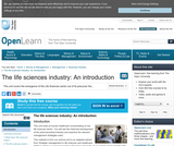 The Life Sciences Industry: An Introduction