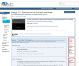 Energy 101: Feedstock for Biofuels and More