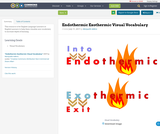 Endothermic Exothermic Visual Vocabulary