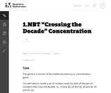 """Crossing the Decade"" Concentration"