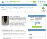 Adding Helpful Carrier Devices to Crutches